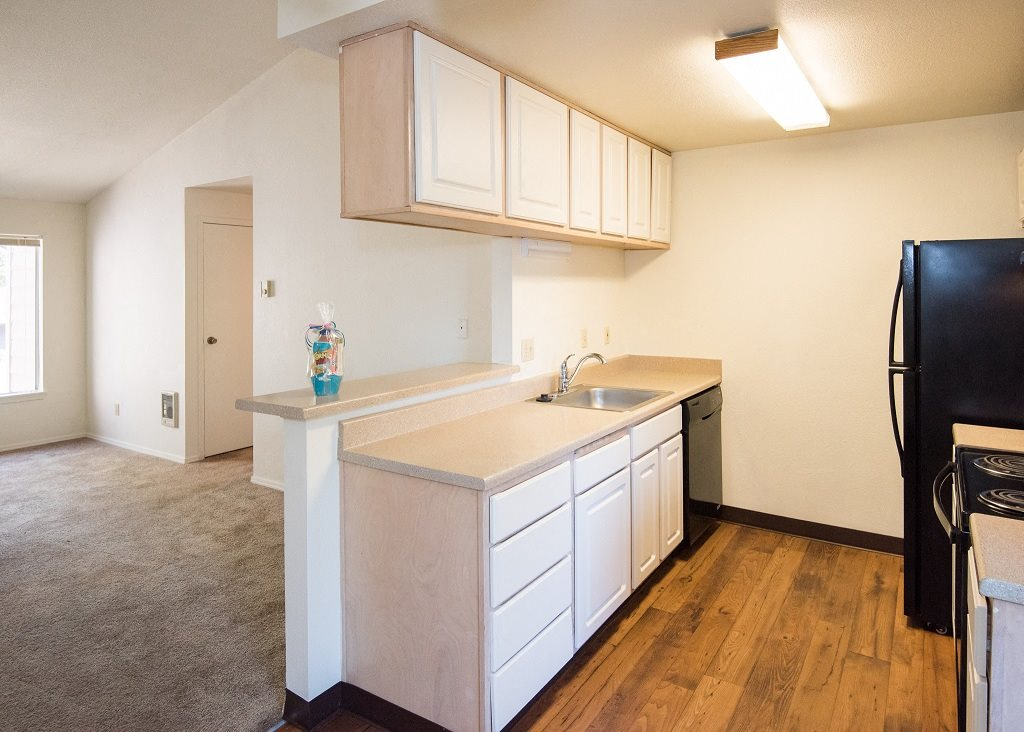Crown Court Vacant Apartment Upgraded Kitchen
