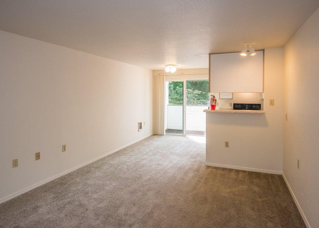 Elmonica Court Vacant Apartment Living Room