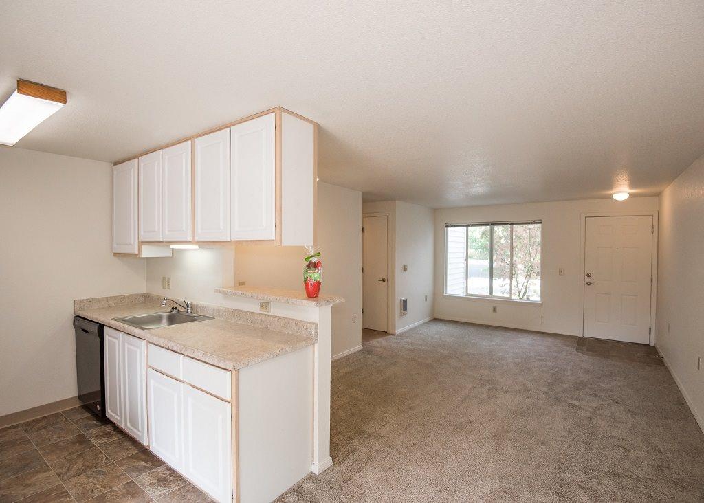 Elmonica Court Vacant Apartment Upgraded Kitchen