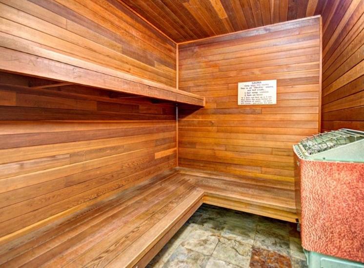Maple Pointe Dry Sauna