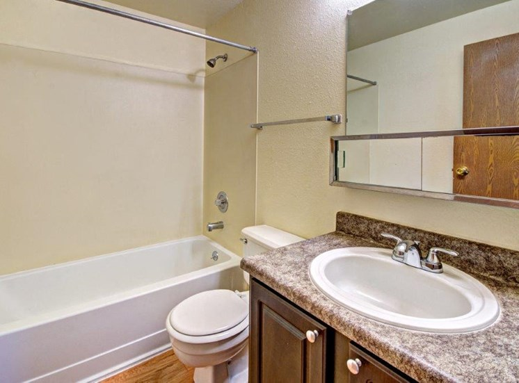 Maple Pointe Vacant Apartment Upgraded Bathroom