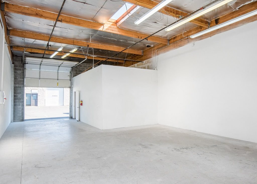 Park 219 Business Park Space Interior With Roll Up Door
