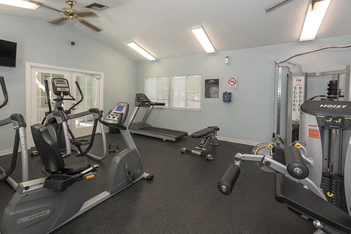 Pepperwood Fitness Center Equipment