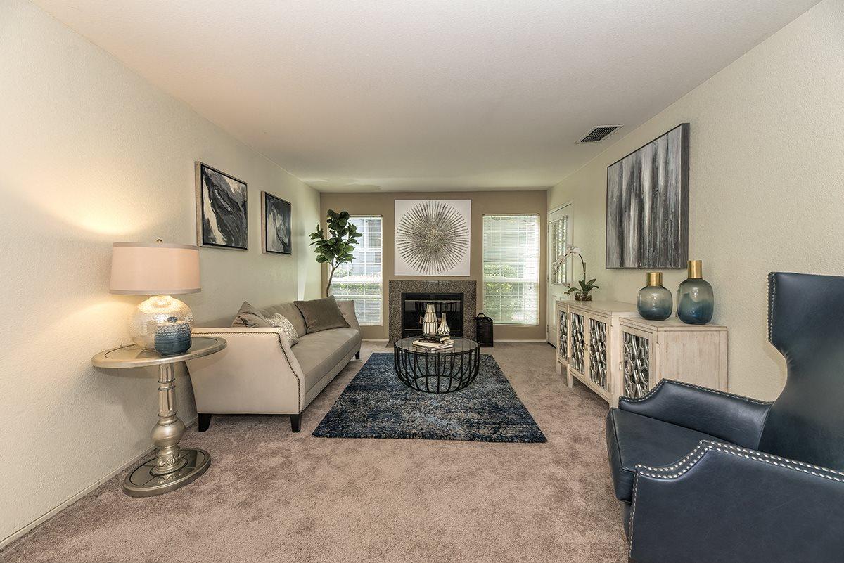 Rocklin Gold Model Living Room