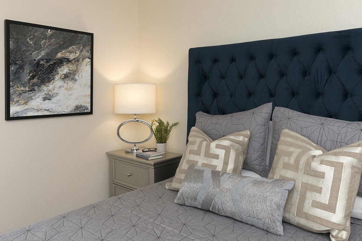 Rocklin Gold Model Master Bedroom Close Up