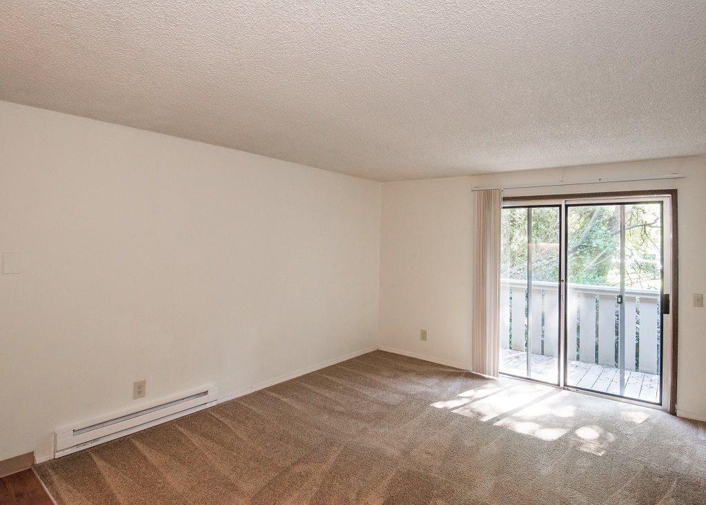 Rolling Hills Vacant Studio Apartment Living Room