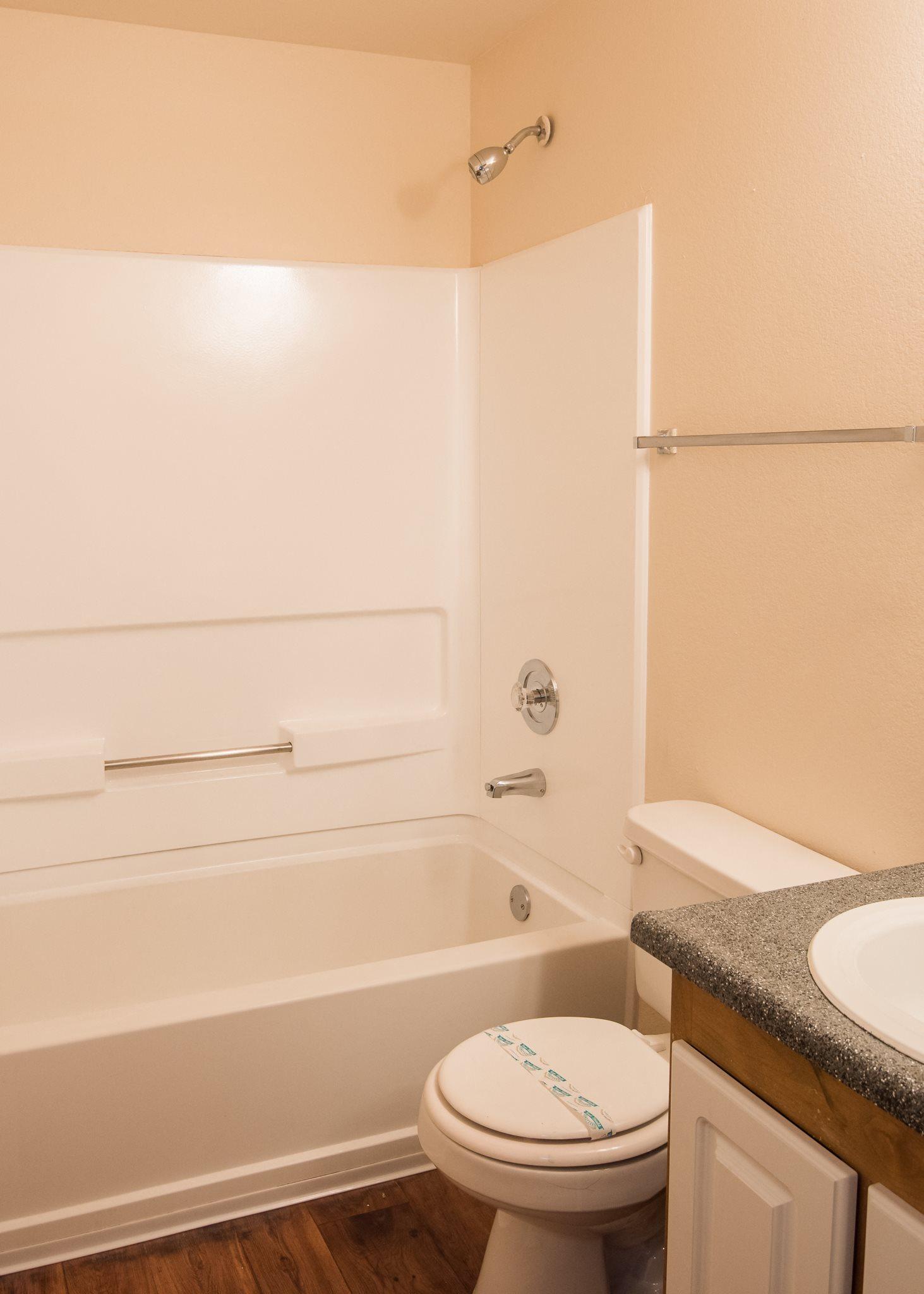 Shadow Hills Vacant Apartment New Bathroom