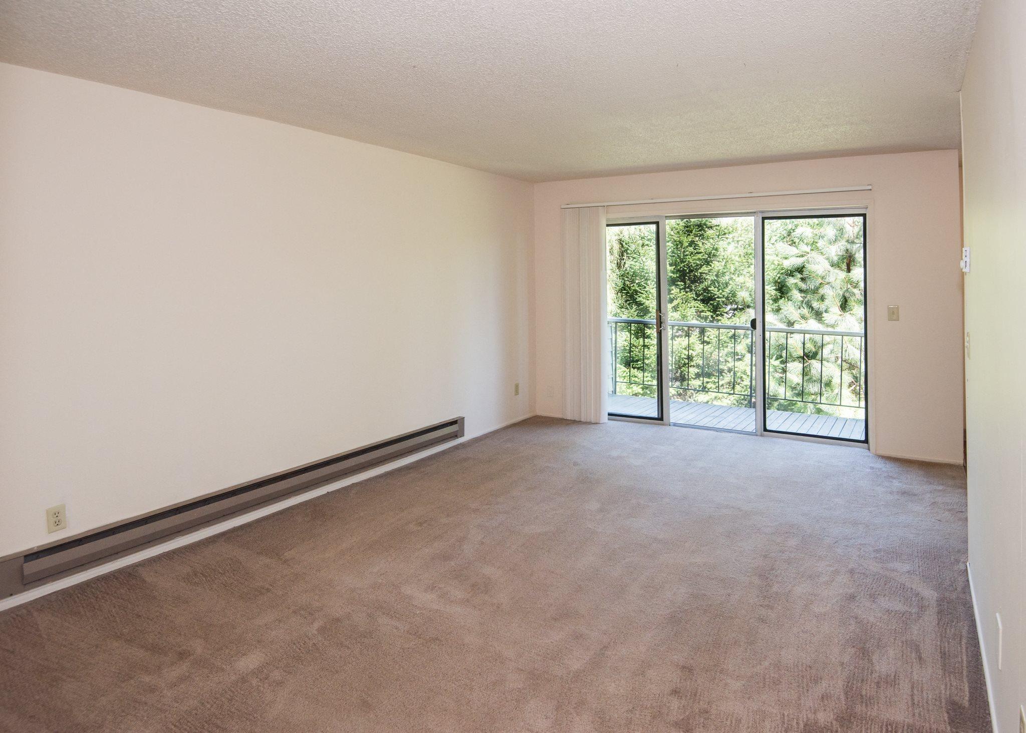 Shadow Hills Vacant Apartment Original Living Room