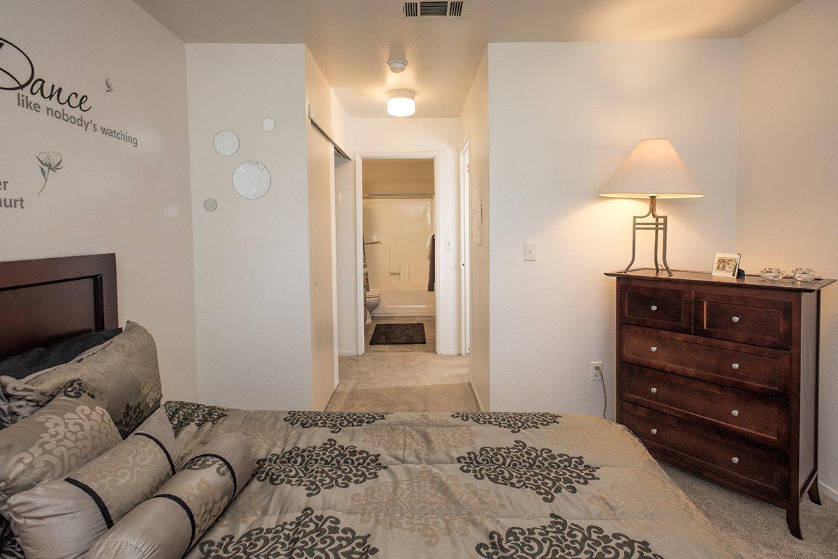Sierra Glen Model Master Bedroom