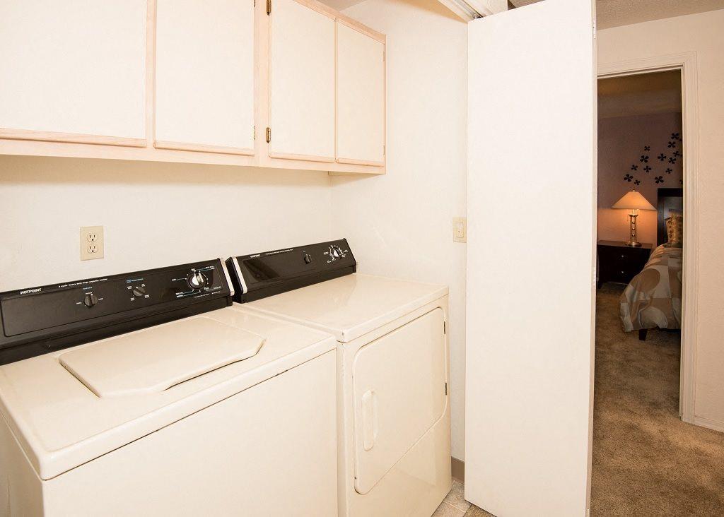 St Marys Woods Model Apartment Laundry