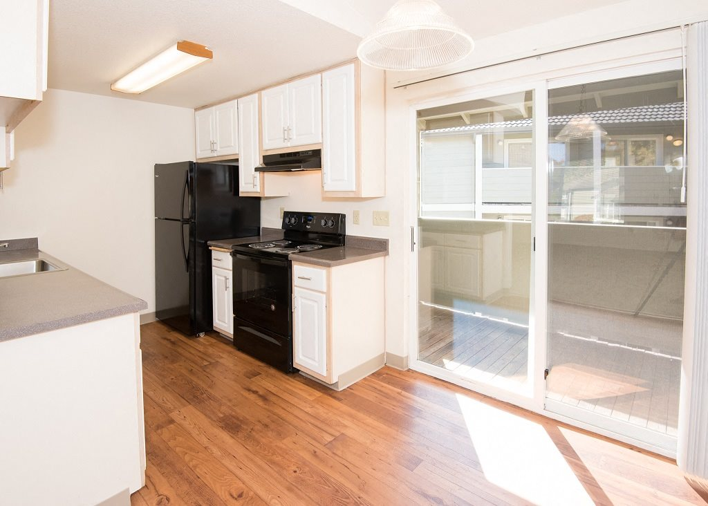 St Marys Woods Upgraded Vacant Apartment Kitchen & Deck Sliding Door