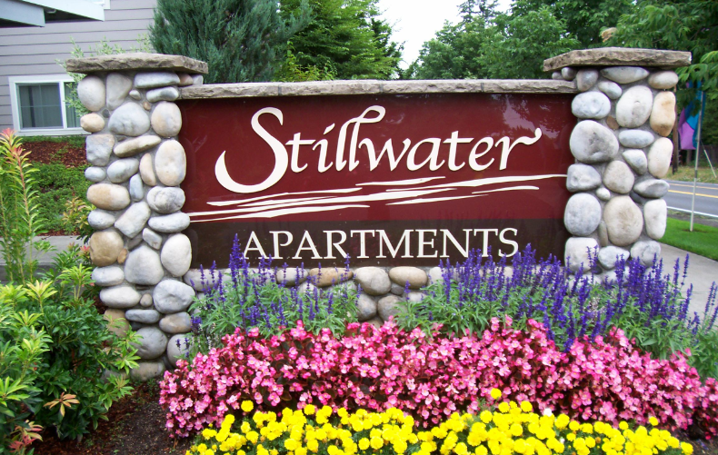 Stillwater Property Entry Monument Sign
