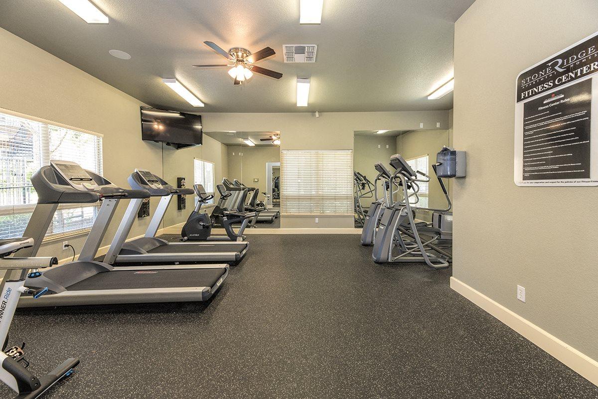 Stoneridge 24 Hour Fitness Center Cardio Machines