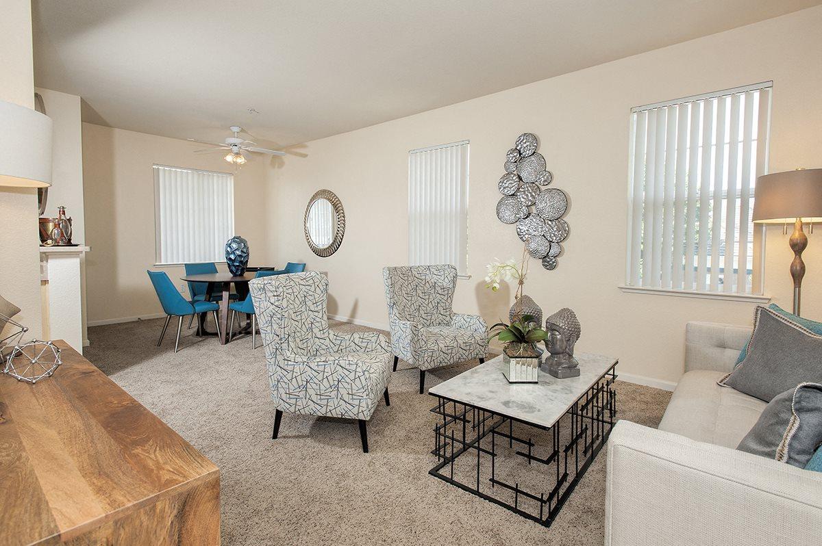 Stoneridge Model Living Room