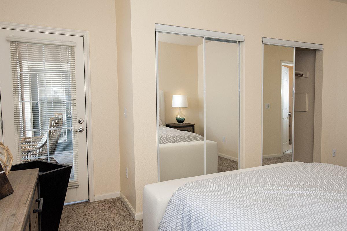 Stoneridge Model Master Bedroom & Door To Patio