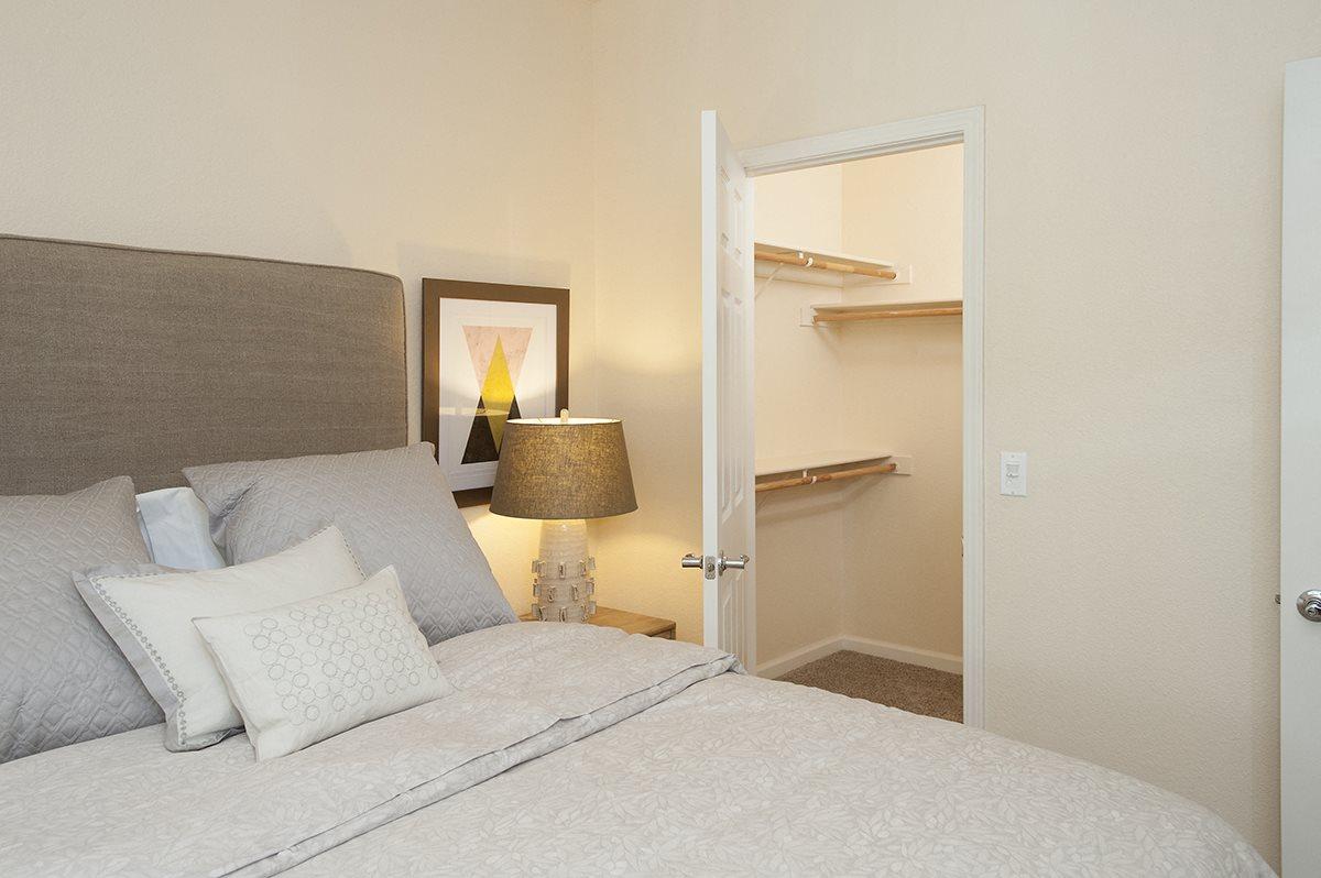 Stoneridge Model Smaller Bedroom& Walk In Closet