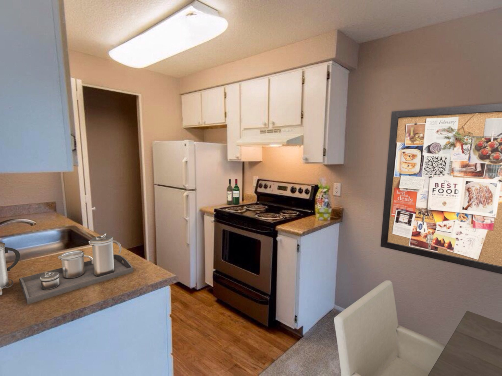 Sunstone Parc 1x1 Apartment Kitchen