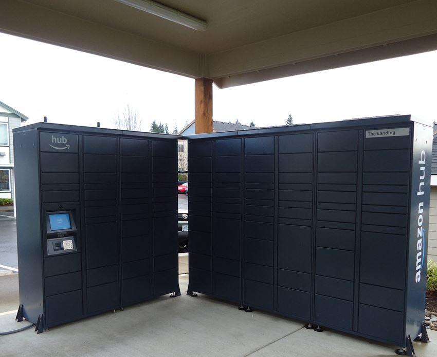 The Landing Self Service Package Lockers