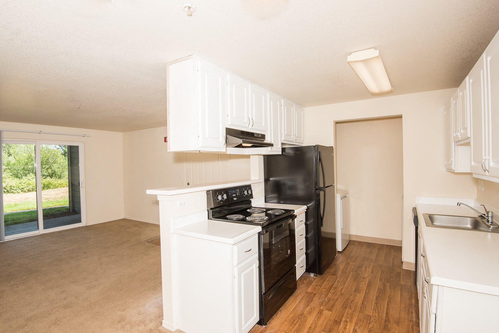 Valley River Court Vacant Upgraded Kitchen