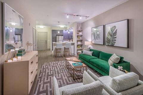 The Metropolitan Model Living Area