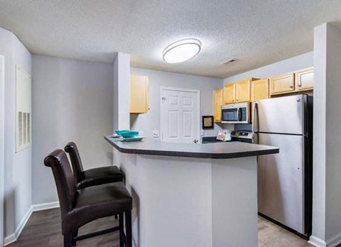 Eat-In Kitchen at Haven at Patterson Place, North Carolina