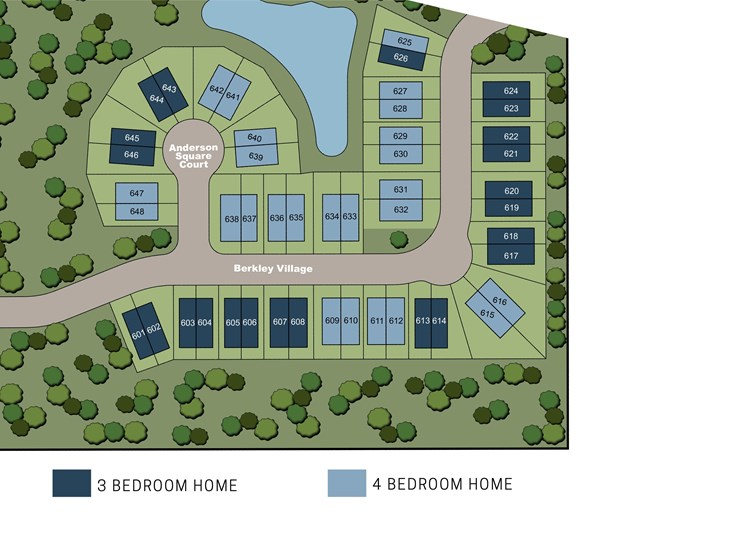 Ascend Carolina Forest lot view site map