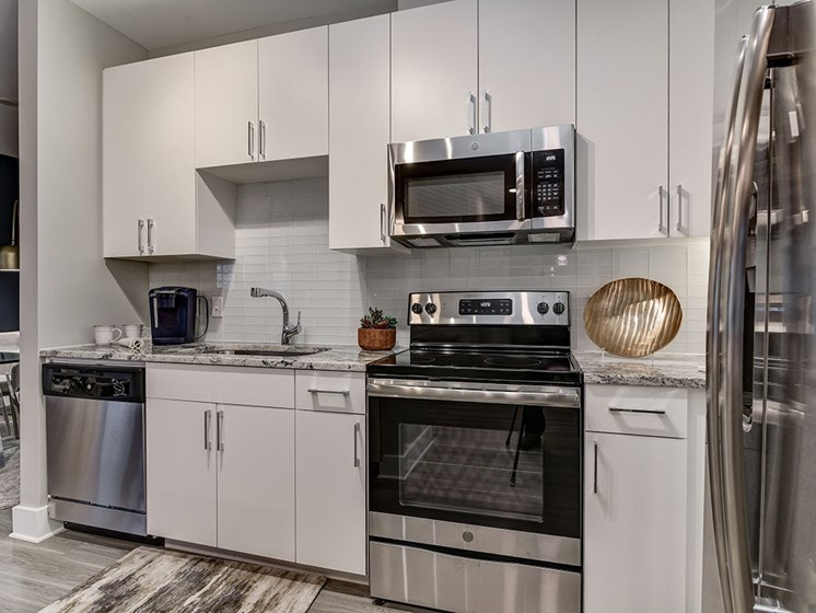 Bell Shady Grove Apartment Kitchen