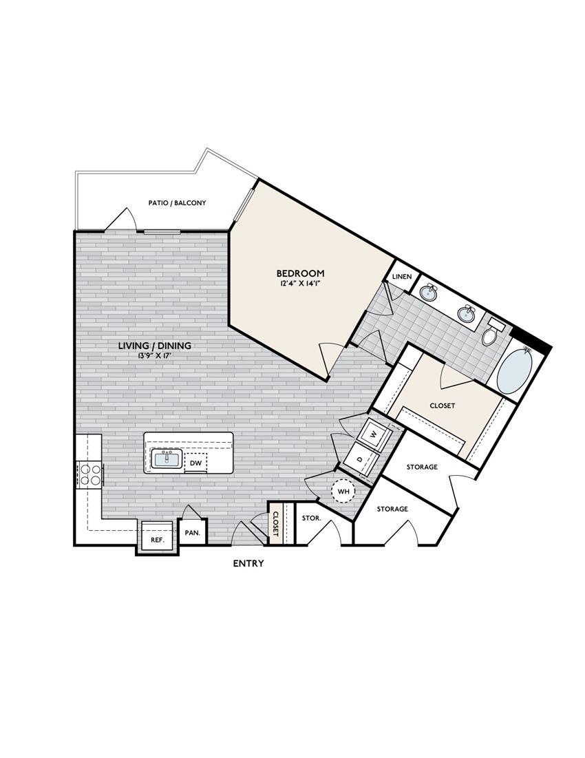 Boardwalk A1J floorplan