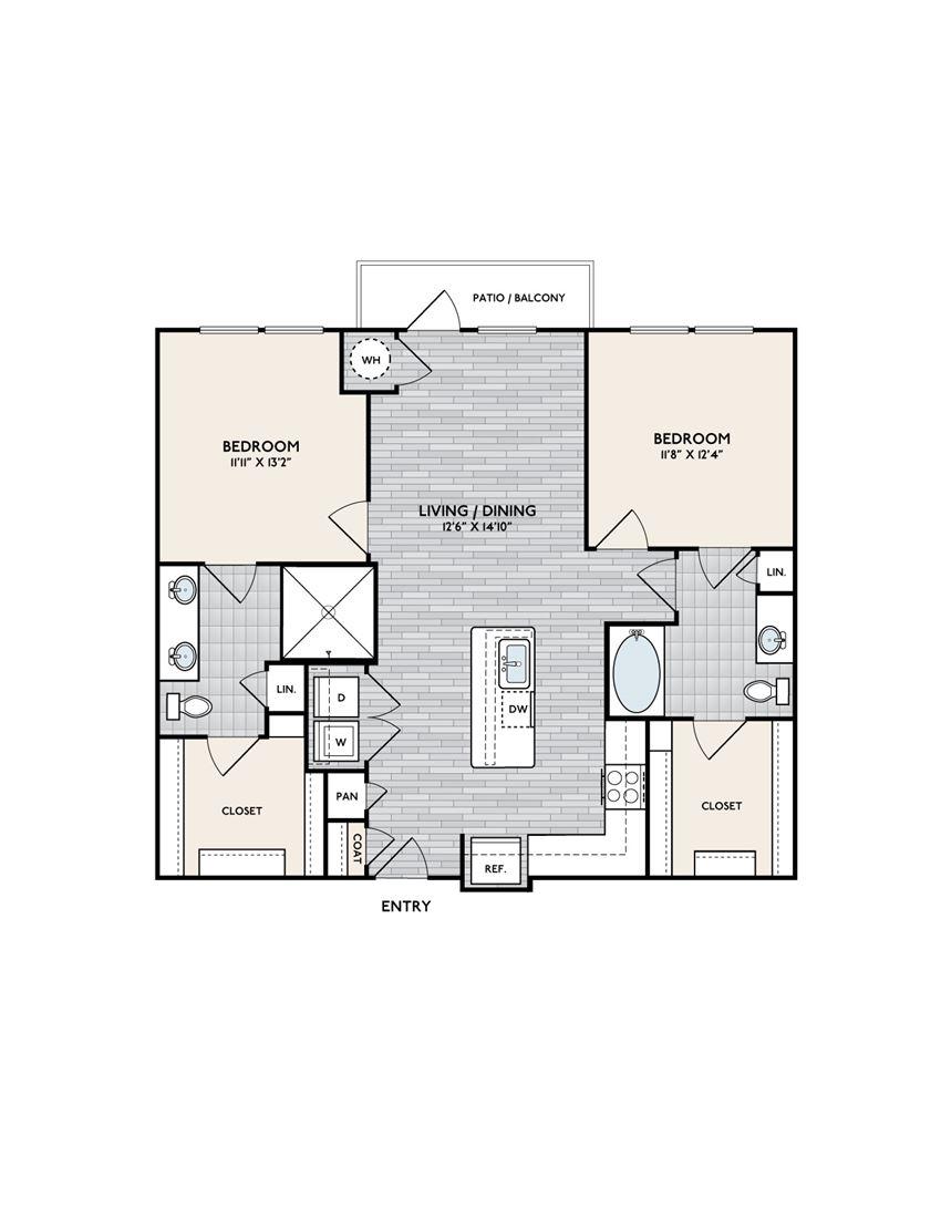 Boardwalk B2A floor plan