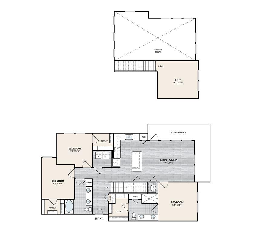 Boardwalk C2B floorplan