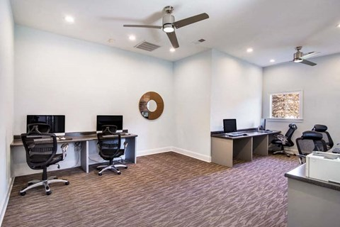 Business Center at Haven at Patterson Place, Durham, NC