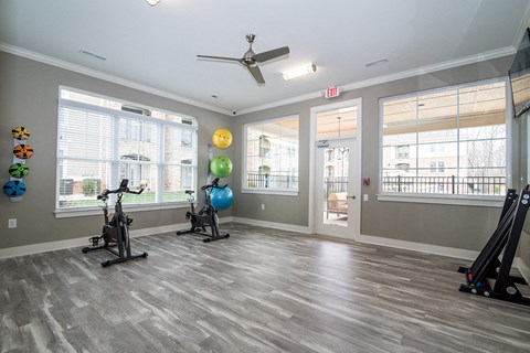fitness center flex room