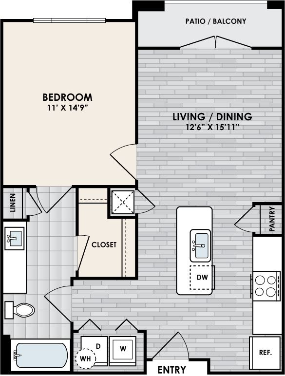 Eastshore A1B floorplan