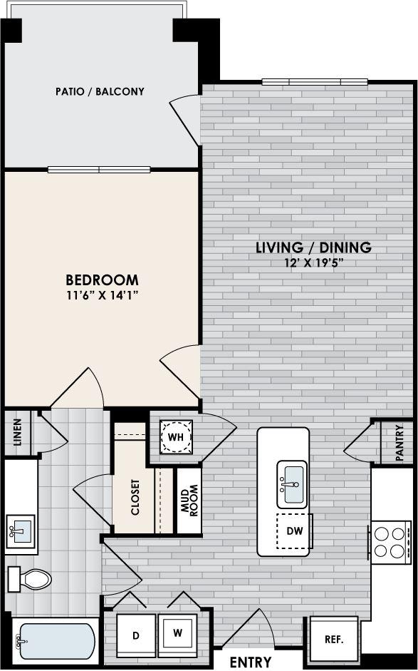 Eastshore A1C floorplan