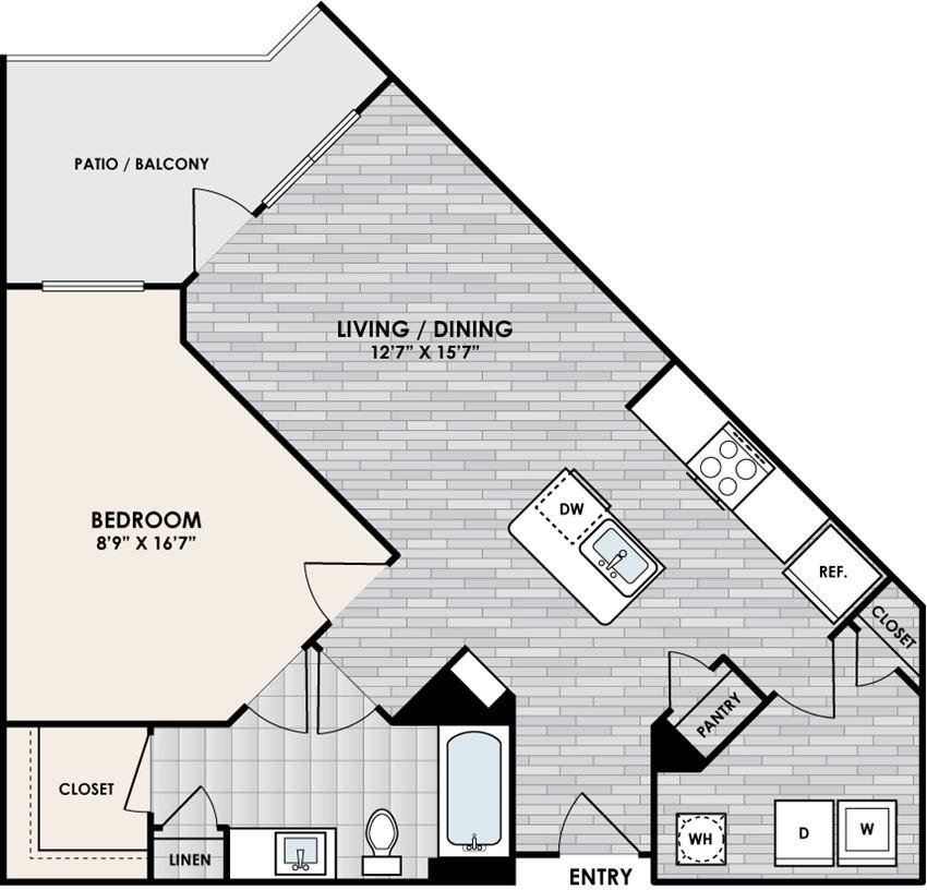 Eastshore A1D floorplan