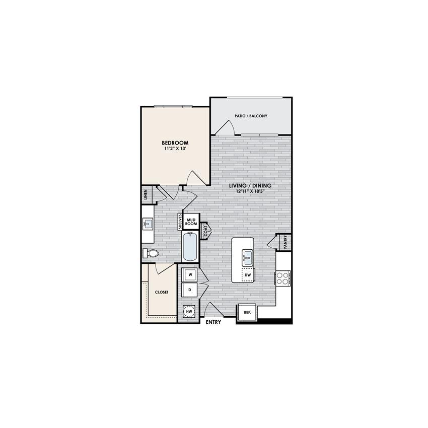 Eastshore A1H floorplan