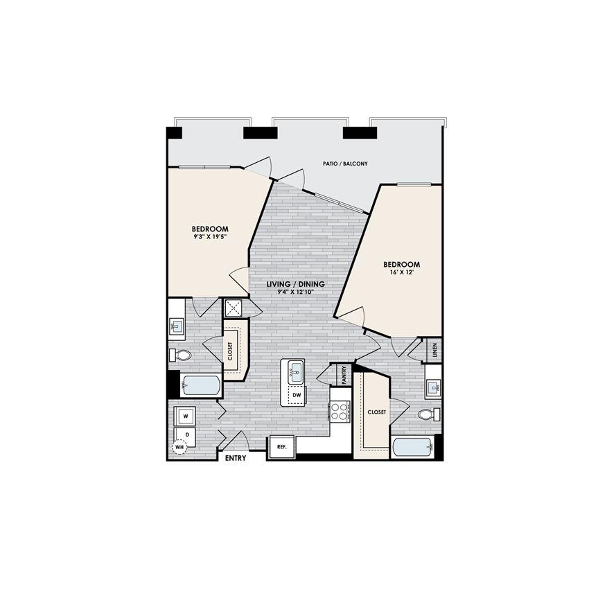 Eastshore B2A floorplan