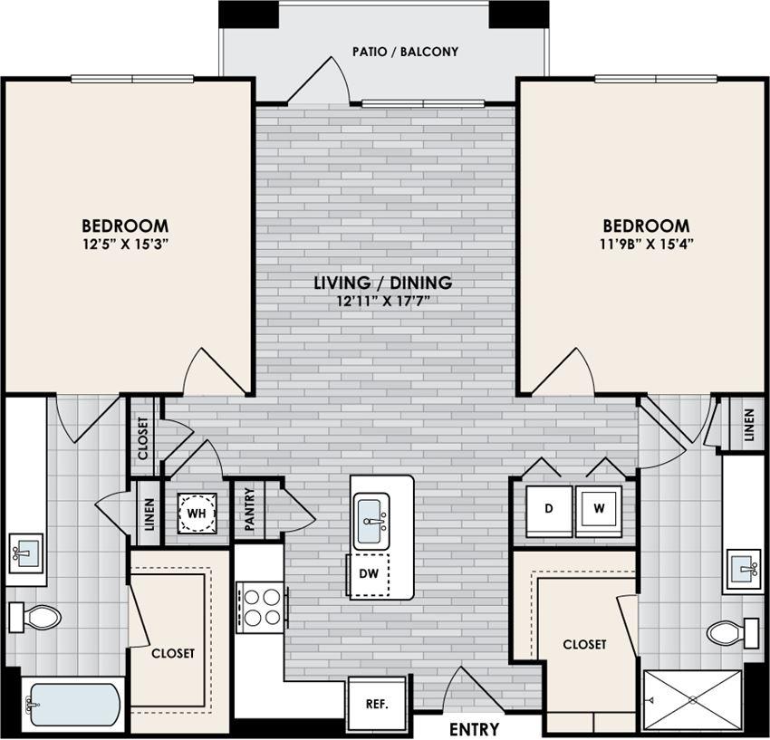 Eastshore B2C floorplan