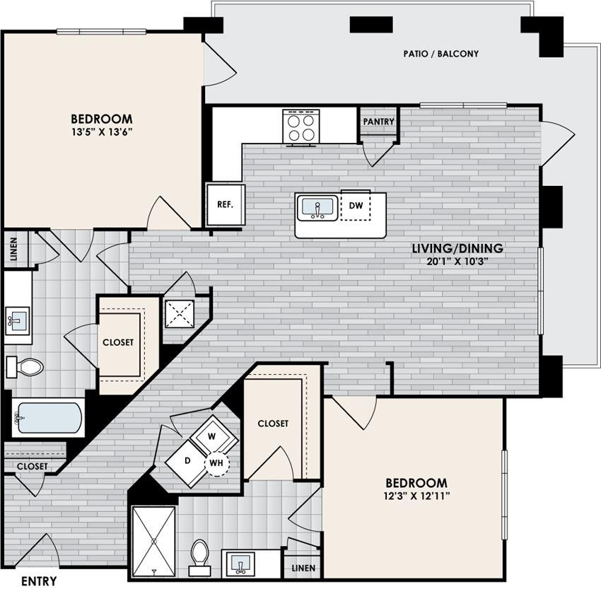 Eastshore B2F floorplan