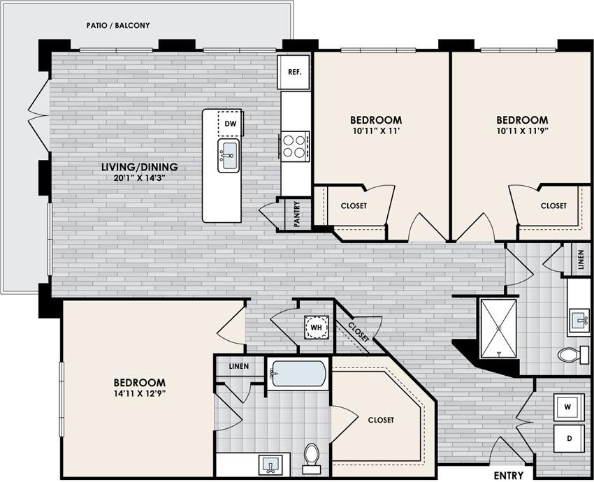 Eastshore C2A floorplan