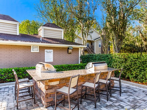 Barbecue And Grilling Station at Green Tree Place, Florida, 32256