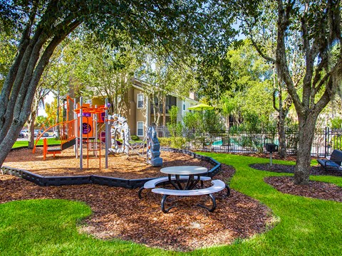 Playground For Children at Green Tree Place, Jacksonville, FL