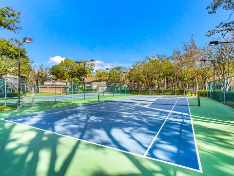 Tennis Court at Green Tree Place, Jacksonville
