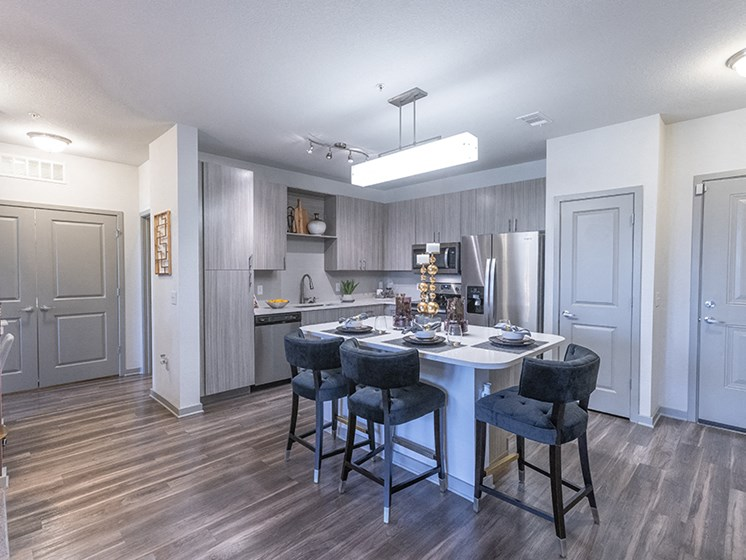 Eat-In Kitchen at Integra Sunrise Parc, Florida, 34746