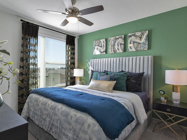 Comfortable Bedroom at Integra Sunrise Parc, Kissimmee