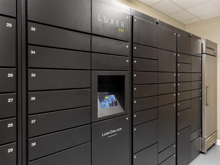 Kimball Towers  apartments package lockers