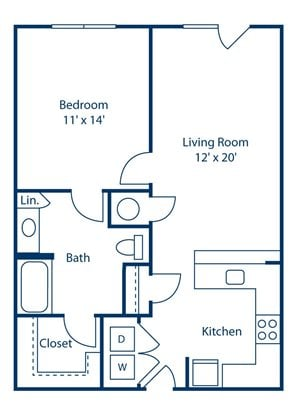 Park and Market A1C floor plan