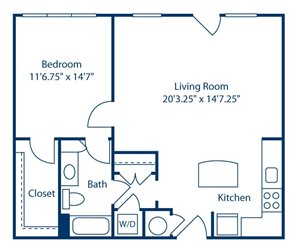 Park and Market A1H floor plan