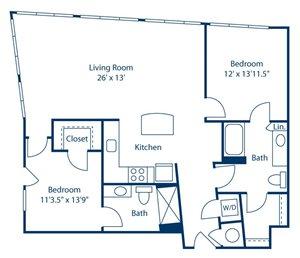 Park and Market B2C floor plan