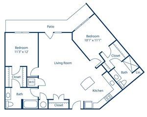 Park and Market B2D floor plan